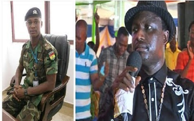 Captain Maxwell Mahama and Rev. Dr. Ebenezer Adarkwa Yiadom Opambour