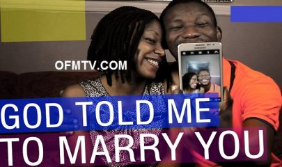 God told me to marry you