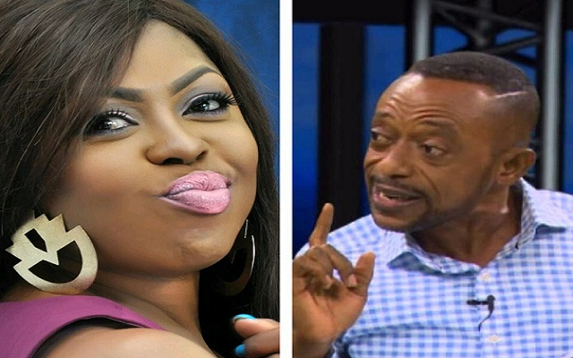 Afia Schwarzenegger (Left) and Rev. Isaac Owusu Bempah (Right)