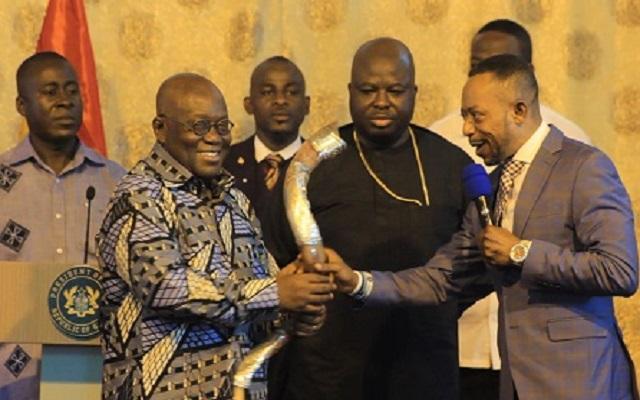 President Akufo-Addo And Rev. Isaac Owusu Bempah