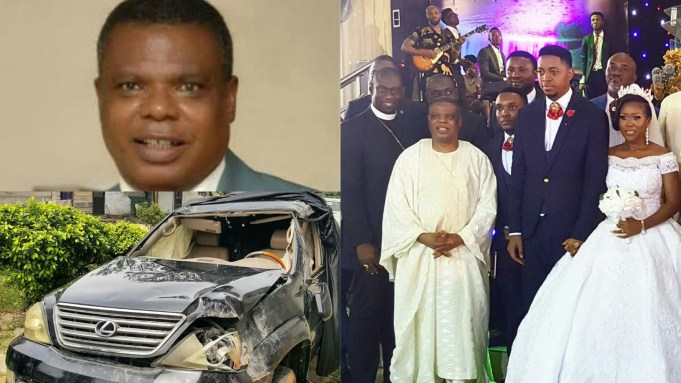 Bishop John Bienose of CGM survives accident while on his way to son's wedding