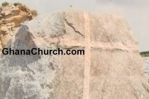 "Huge Stone with ""Cross"" Discovered In Ghana"