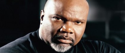Bishop T.D. Jakes - Bishop of The Potter's House, American megachurch.