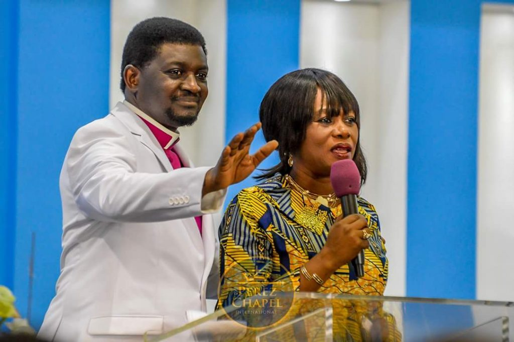 Bishop of the Perez Chapel International, Charles Agyinasare & Wife