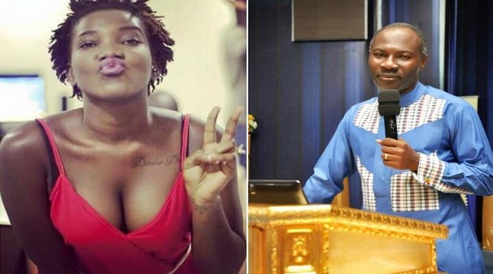 Ebony (Left) and Prophet Emmanuel Badu Kobi (Right)