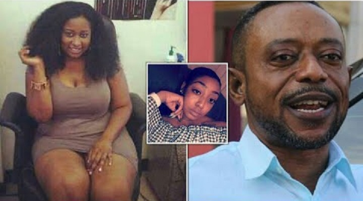 The Mother who accused Apostle Dr. Owusu Bempah of Sleeping with her and the daughter, Yvonne.