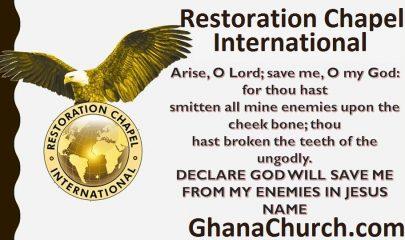 Restoration Chapel International