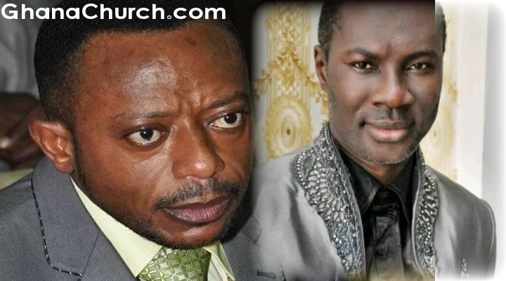Apostle Dr. Isaac Owusu Bempah (Left) and Prophet Emmanuel Badu Kobi (Right)