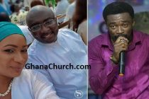 Ghana Vice President Dr. Bawumia & Wife (Left) And Prophet Bishop Reindolph Oduro Gyebi (Right)