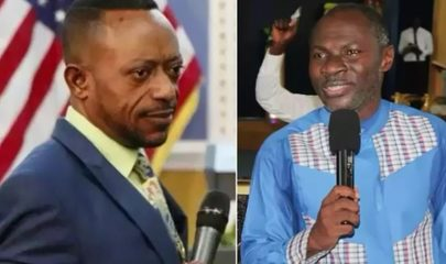 Apostle Dr. Isaac Owusu Bempah (Left) And Prophet Emmanuel Badu Kobi (Right)