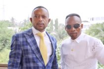 Apostle Dr. Isaac Owusu Bempah (Left) and Bishop Elisha Salifu Amoako (Right)