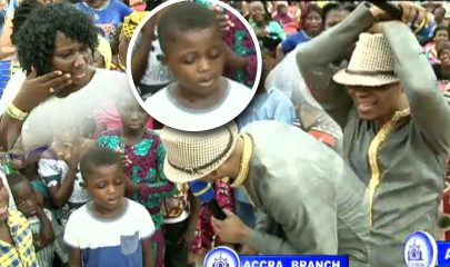 7-year-old Kobee told Angel Bishop Obinim