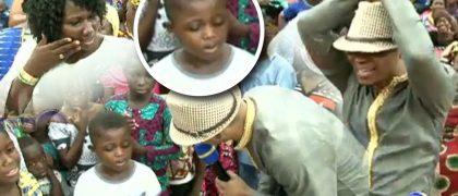 7-year-old Kobee told Angel Bishop Obinim