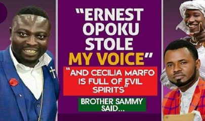Brother Sammy (Left); Cecilia Marfo (Top Right) & Ernest Opoku (Bottom Right)