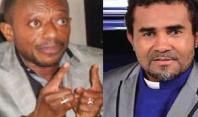 Apostle Owusu Bempah (Right) and Prophet Dennis Whole (Left)