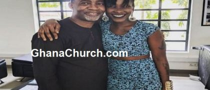 Rev. Dr. Lawrence Tetteh (Left) and Late Ebony Reigns (Right)
