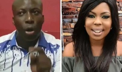 Rev. Nicholas Osei, aka Prophet Kumchacha (Left) And Afia Schwarzenegger (Right)