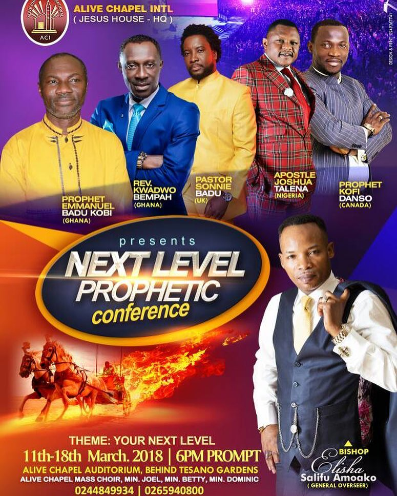 Next level prophetic conference 2018