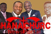 From Right: 1. Prophet Emmanuel Amoah; 2. Prophet Christopher Yaw Annor; 3. Prophet Elijah Del Klomega and 4.Prophet Frank Dwomoh Sarpong