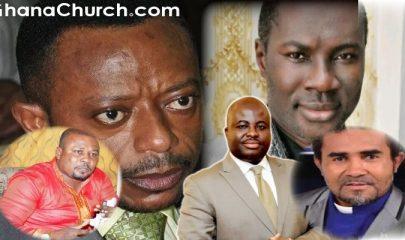 From Right: Prophet Dennis Whole, Prophet Emmanuel Badu Kobi, Prophet Agyeman Prempeh, Prophet Dr. Isaac Owusu Bempah and Prophet Dr. Emmanuel Kofi Enim