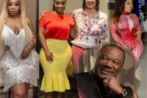Moesha Boduong, CNN's Christiane Amanpour and Archbishop Duncan-Williams