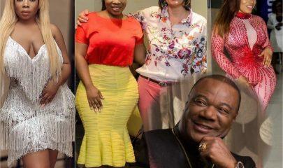 Moesha Boduong, CNN's Christiane Amanpour and Archbishop Duncan-Williams