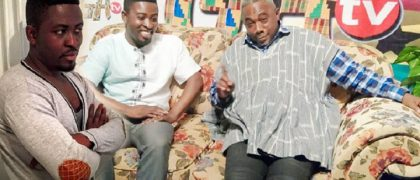 From Left Richard Osikani Dapaah and From Right Apostle John Prah