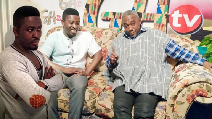 From Left Richard Osikani Dapaah and From Right Apostle John Prah