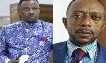 Prophet Nigel Gaisie (Left) and Apostle Dr. Isaac Owusu Bempah (Right)