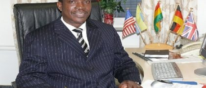 Apostle Dr Michael Kwabena Ntumy - former Chairman of The Church of Pentecost Worldwide