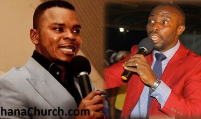 Bishop Angel Daniel Obinim (Left) And Prophet Kofi Amponsah (Right)