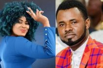 Gladys Mensah Boaku aka Nayas 1 (Left) And Gospel singer Ernest Opoku (Right)