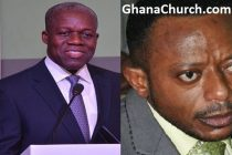 Former Ghana Vice President, Kwesi Amissah-Arthur (Left) And Prophet Isaac Owusu Bempah (Right)
