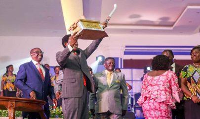 Church of Pentecost Ghana Music Committee Honours Former Chairman Prof. Dr. Opoku Onyinah