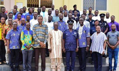 PIWC-Tarkwa PEMEM Prays For Ghana Police Service