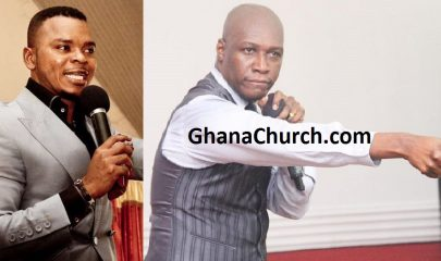 Bishop Angel Daniel Obinim (Left) And Prophet Dr. Kofi Oduro (Right)