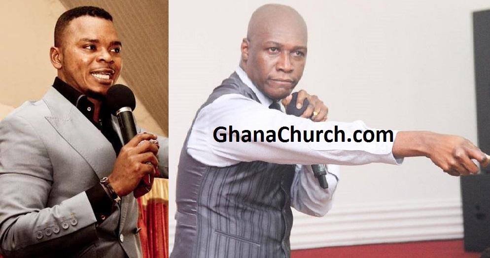 Bishop Angel Daniel Obinim (Left) And Prophet Dr. Kofi Oduro (Right)