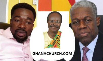Eagle Prophet, Ex-President Kwesi Amissah-Arthur And Dr. Paa Kwesi Nduom