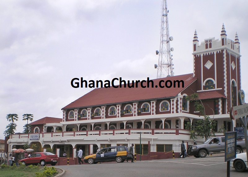 Wesley Methodist Cathedral in Kumasi, Ghana.