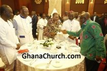 President Akufo-Addo's breakfast meeting with members of Ghana Clergy