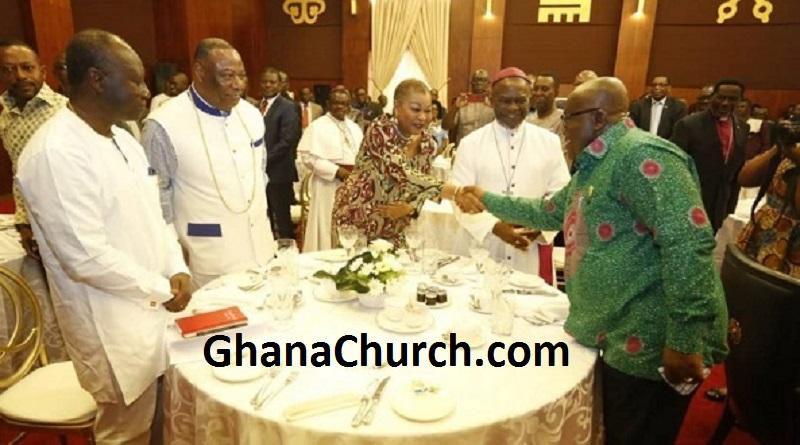 President Akufo-Addo's breakfast meeting with members of Ghana Clergy
