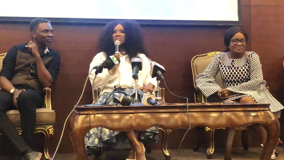 Dr. Juanita Bynum and Ohemaa Mercy at press conference 24 hours to Tehillajh Experience 2018