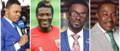 Nana Appiah, Asamoah Gyan, Despite, Ken Agyapong have been blessed by God.
