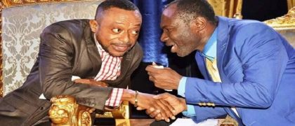Prophe Isaac Owusu Bempah (Left) and Prophet Emmanuel Badu Kobi (Right)