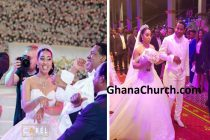 Pastor Chris Oyakhilome dances with daughter and Shaku Shaku with Ghanaian son-in-law