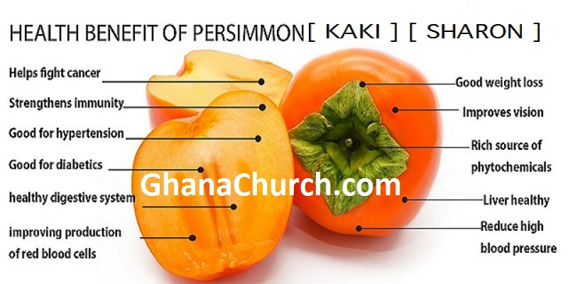 7 Health Benefits of Persimmon or Kaki or Sharon Fruit