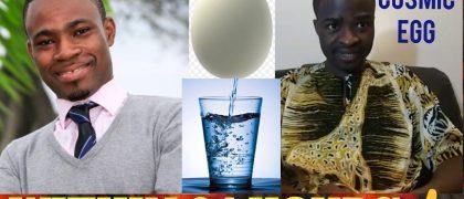 Evangelist Emmanuel Kwame Addai and Adom FM's Kofi Adomah Nwanwani