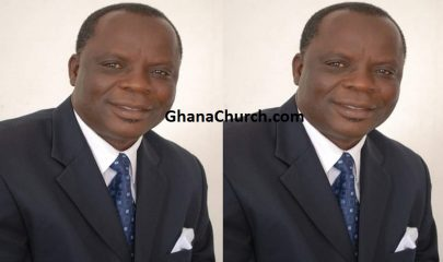Rev. Dr. David Nabegmado - Head Pastor of Tema Community 4 Central Assemblies of God.