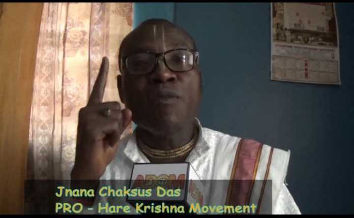 Jnana Chaksus Das - The Director of Communications for Hare Krishna Movement in Ghana