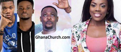 Kwesi Arthur, Kwami Eugene, Prophet Nigel Gaisie and Nana Aba Anamoah